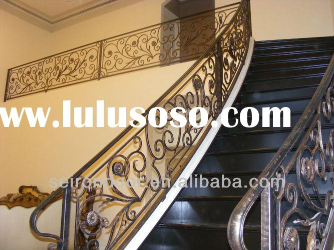 Clean The Decorative Wrought Iron Railing : Clean The Decorative Wrought Iron Railing : Cast iron decorative ...