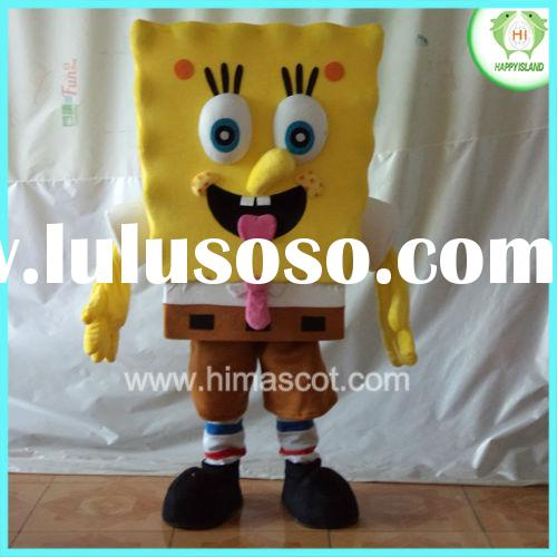HI EN71 Cartoon Spongebob Used Mascot Costumes For Sale