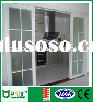 Modern house aluminium sliding door kitchen cabinets design with AS2047|AS2208