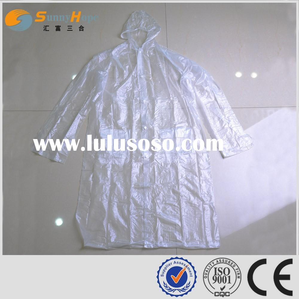 SUNNYHOPE PVC raincoats for men