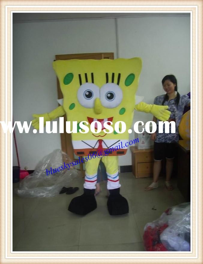 adult spongebob mascot for sale