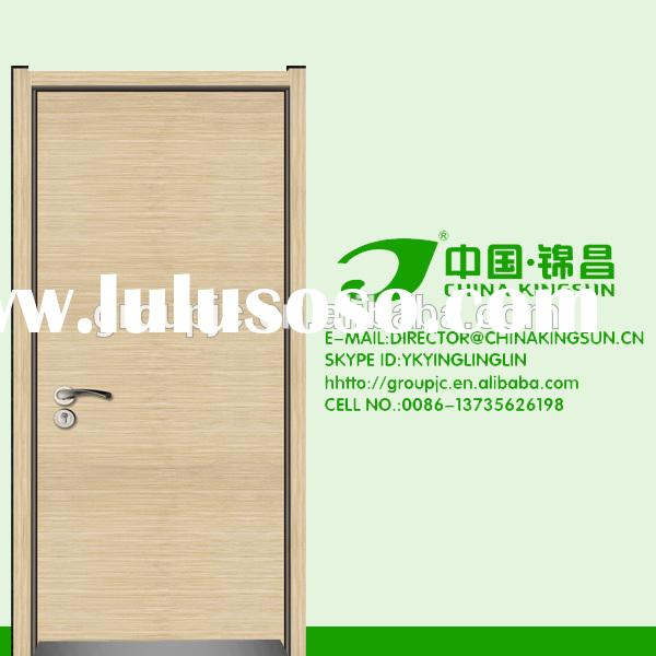 modern new style solid latest design accordion wood door