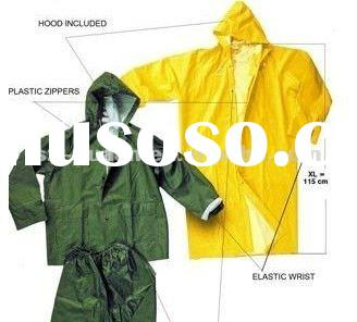 raincoats for men/poncho raincoat pvc raincoat industrial rainwear