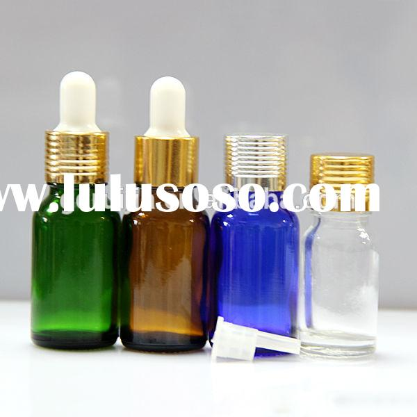 small glass dropper bottles with lids 30ml e liquid glass jar with childproof cap