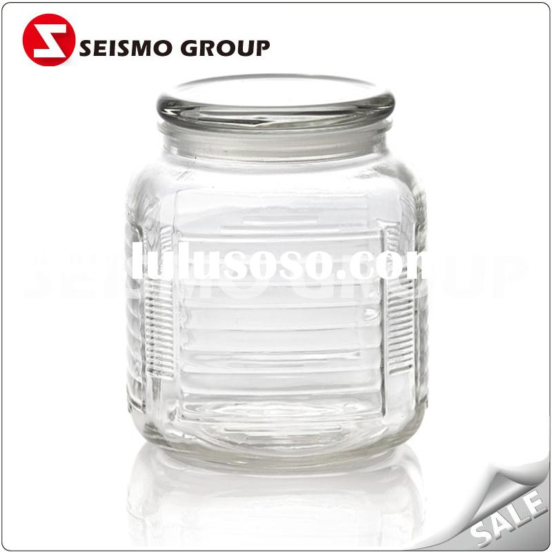 the most popular small glass jar  250ml mason glass jar with metal lid
