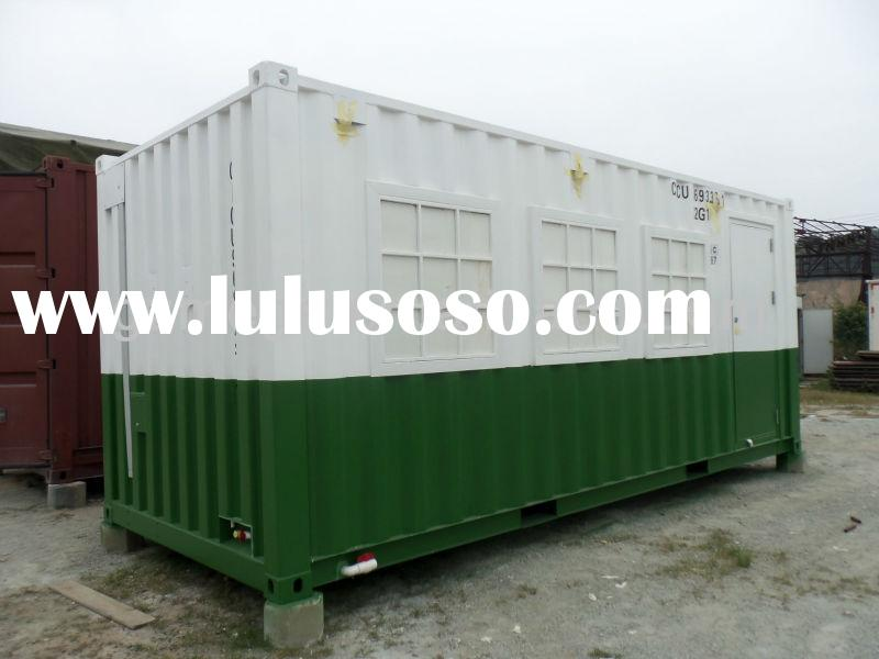 20ft modified sea container for living