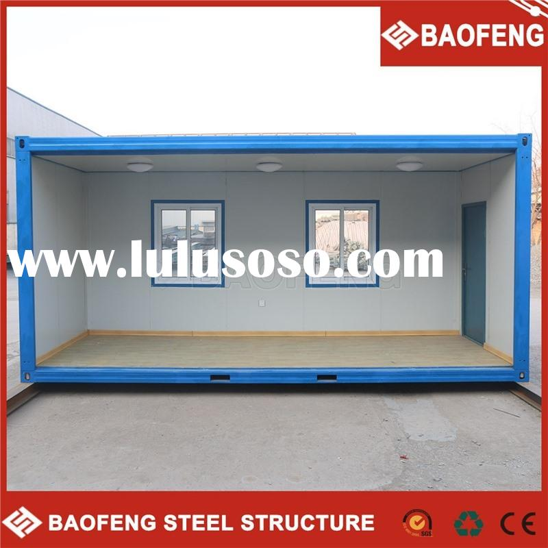 convenient to change shock resistance house prefabricated modified sea container