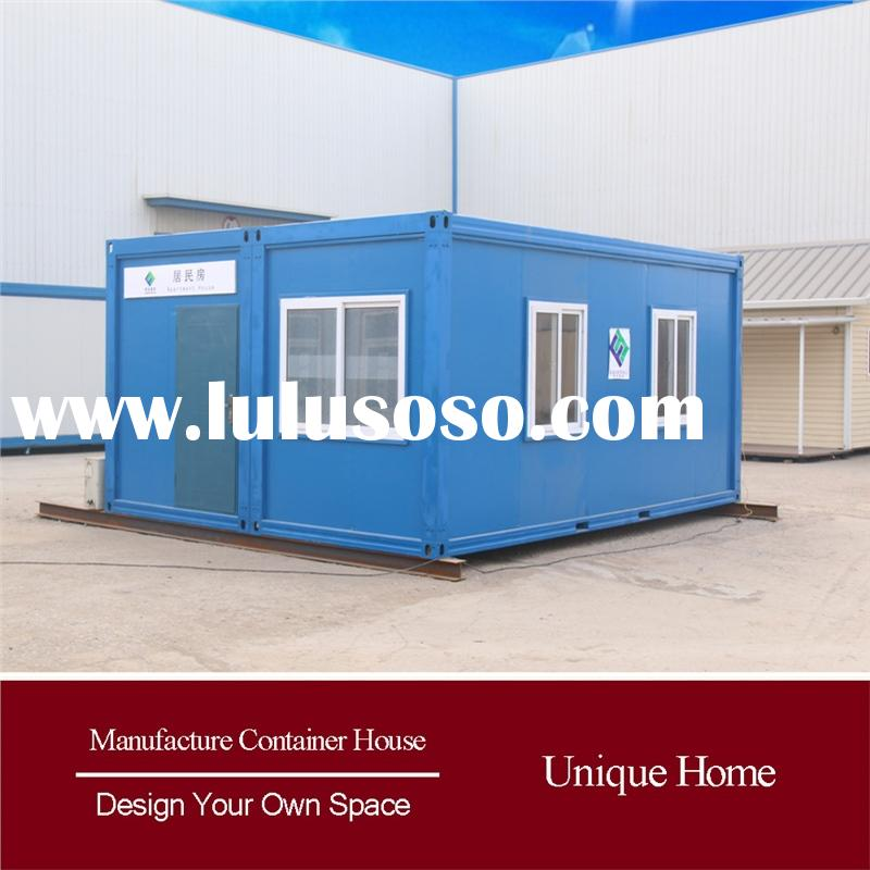 modern demountable steel prefabricated homes villa modified sea container
