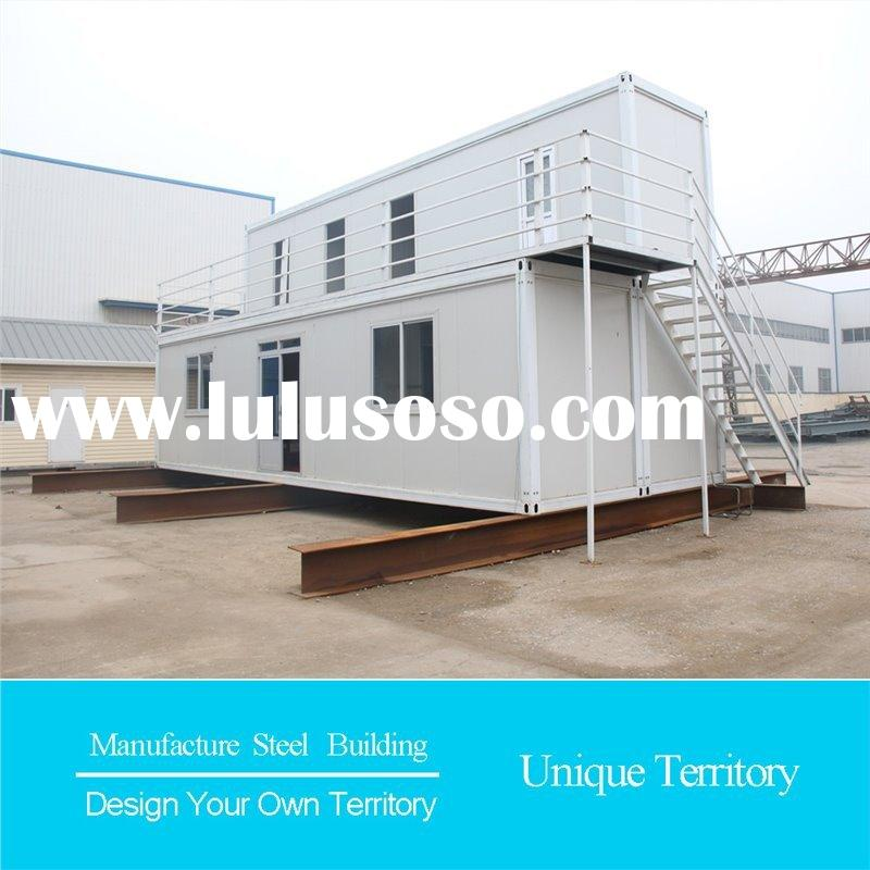 steel industrial waterproof prefabricated homes villa modified sea container