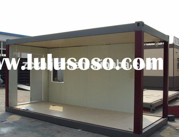 steel frame anti-storm house prefabricated modified sea container house