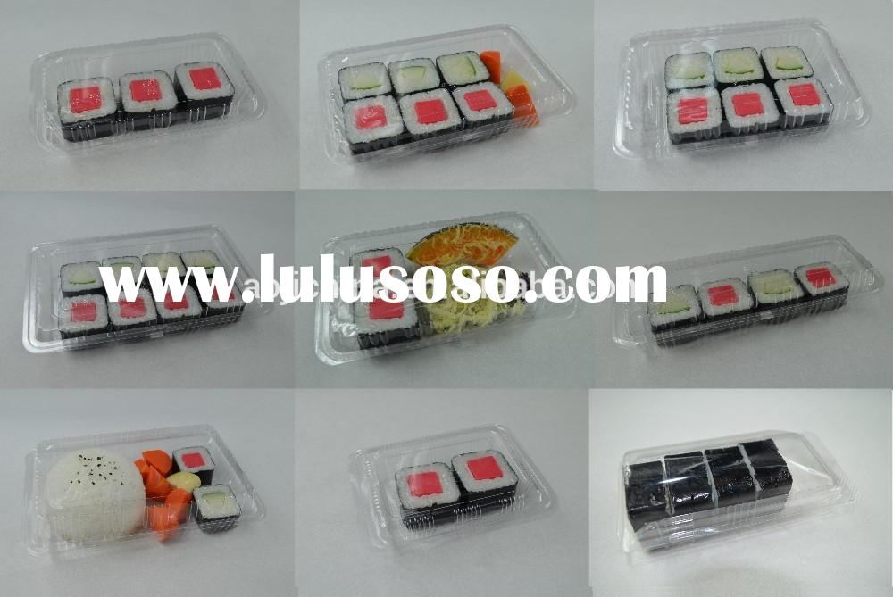 disposable food sushi packaging box