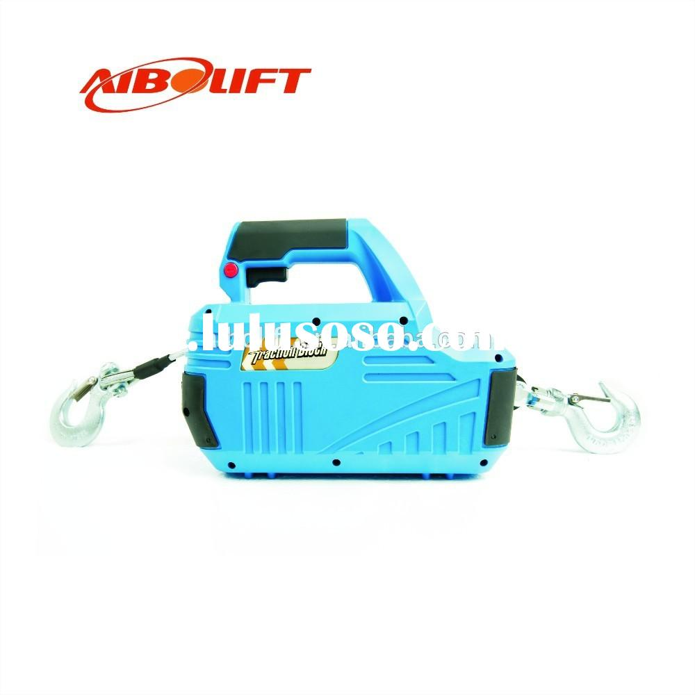 Hand-held small electric hoist 110V constuction lifting
