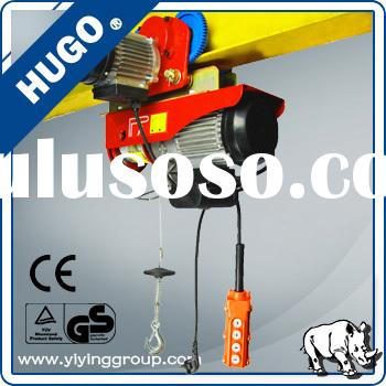 PA Small Electric Hoist 110v Wire Rope Hoist Winch