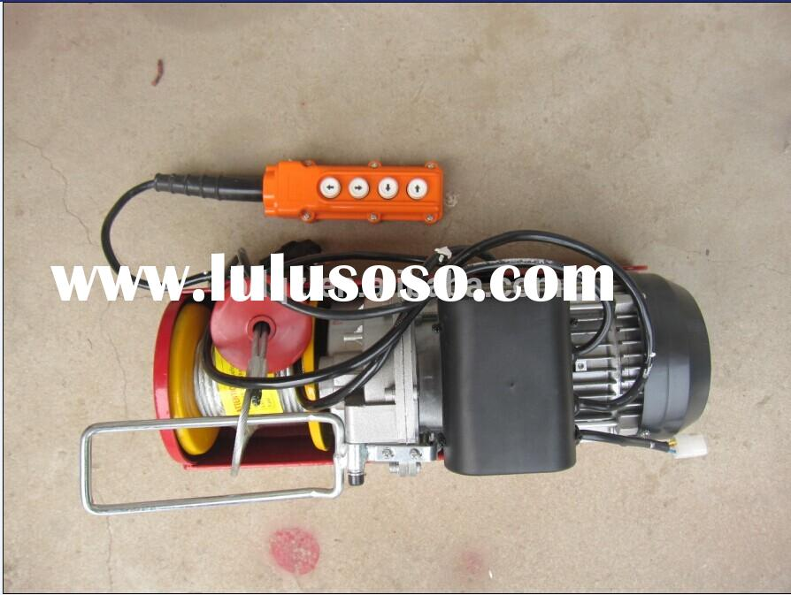 Pa series high speed winch small electric hoist 110V