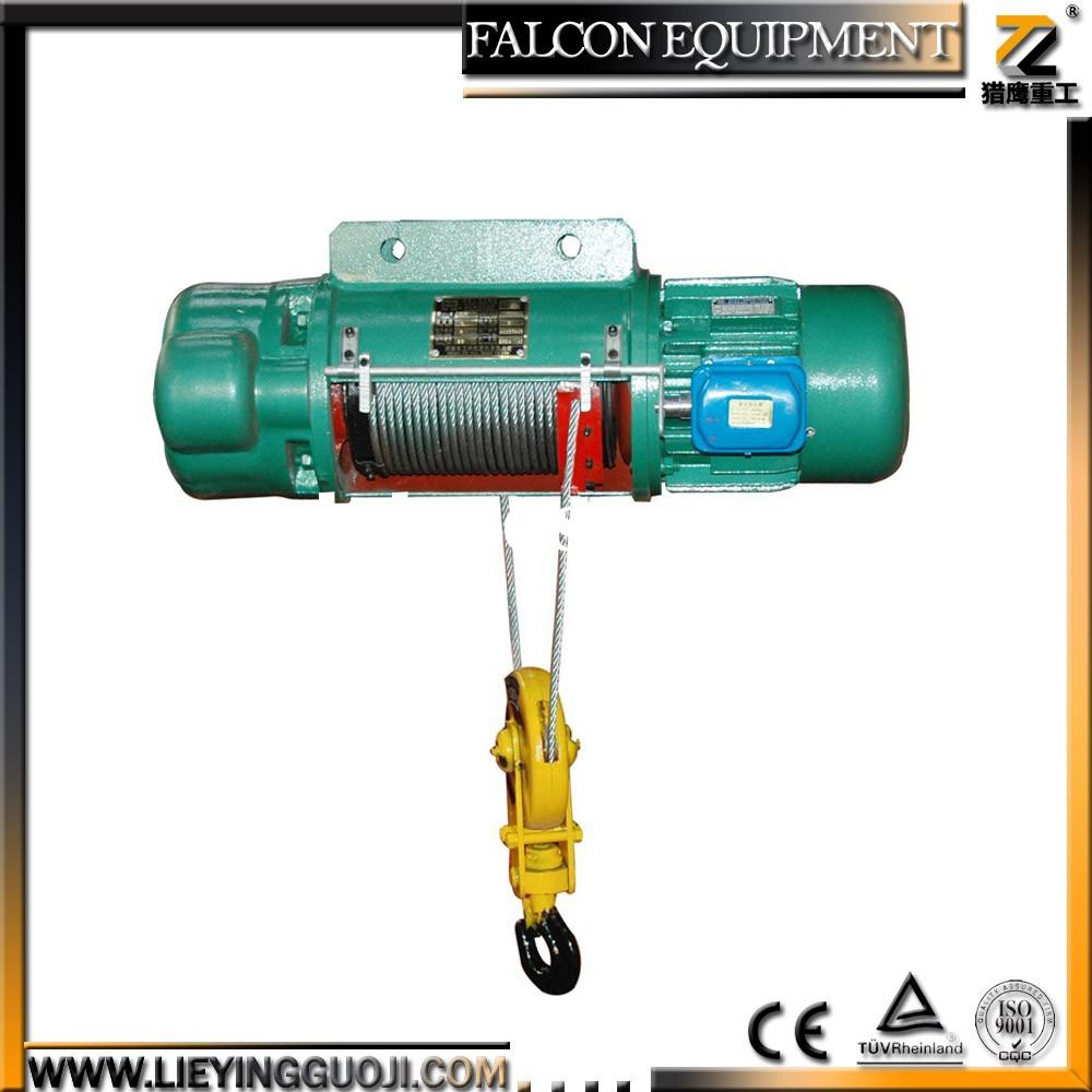 constructuion equipment small crane electric chain hoist 110v 1 ton electric winch