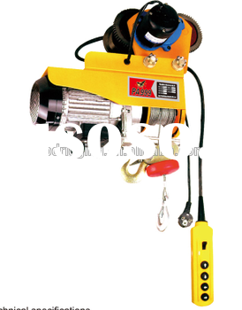 small electric winch 110v made in China manufacturer