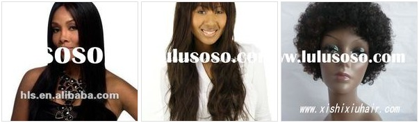 African American Human Hair Wigs for Women